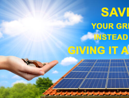 Do You Know You Can Save Your Green, Instead of Giving It Away